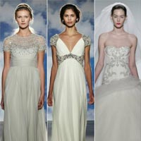 Свадебная мода 2015: модные тенденции (20 фото)