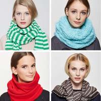 Семь способов носить шарф (фото)