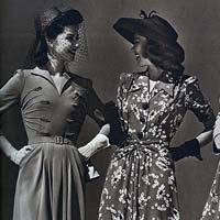 Европейская мода времен Второй мировой войны (9 фото)