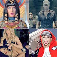 ТОП-10 самых популярных на YouTube клипов 2014 года