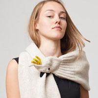 Самые креативные шарфики этой зимы (21 фото)