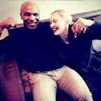 Мадонна записала песню с Майком Тайсоном