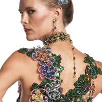 Шикарные платья из бисера американской мастерицы Джейл Би (15 фото)