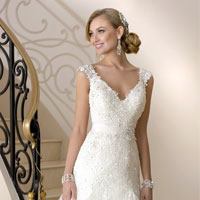 Модные тенденции в мире свадебных платьев 2015 (20 фото)