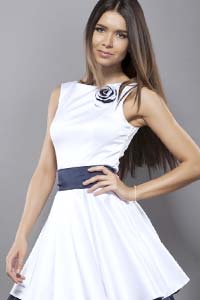 Тенденции весны 2015: платье с юбкой-колокольчиком (15 фото)