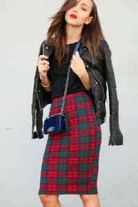 Шотландская юбка в клетку снова в моде (15 фото)