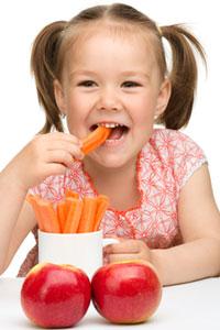 10 полезных продуктов для здоровья ребенка