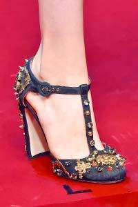 Модные туфли весна-лето 2015 кич и авангард (фото)