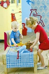 О том, как правильно зонировать детскую комнату