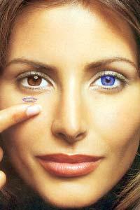 Цветные контактные линзы:  модный тренд с лечебным эффектом