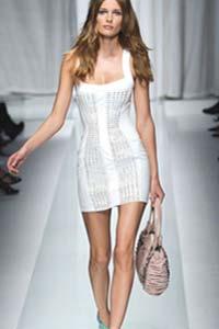 Маленькое белое платье – новый тренд лета 2015 (25 фото)