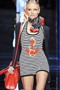 Женская летняя мода: в тренде морской стиль 70-х (20 фото)