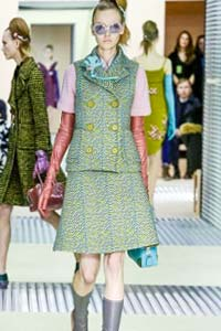Модные тенденции осени: в тренде ретро (20 фото)