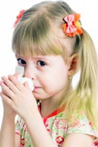 Осень - период обострения аллергии на бытовую пыль у детей