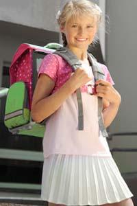 Как школьный рюкзак влияет на здоровье ученика