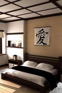 Особенности японского стиля в интерьере спальни