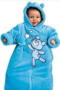Первая одежда новорожденного для осенне-зимних прогулок