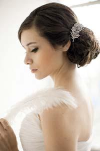 Свадебные прически: в моде винтажный стиль (16 фото)