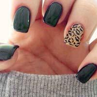 Леопардовий манікюр: модний тренд сезону (16 фото)