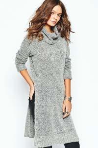Вязаное платье – модный тренд зимы 2015/16 (фото)
