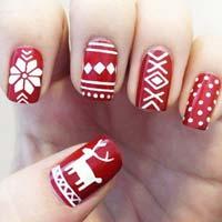 Новорічний дизайн нігтів: 5 головних святкових трендів (фото)