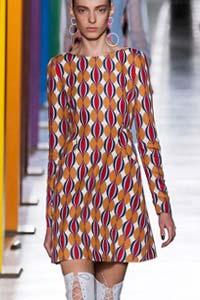 Мини-платье в стиле 60-х – тренд зимы 2016