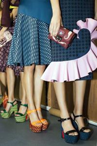 Модная обувь весна - лето 2016