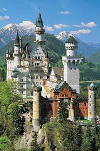 Туристическая Германия: сказочно красивый замок Нойшванштайн