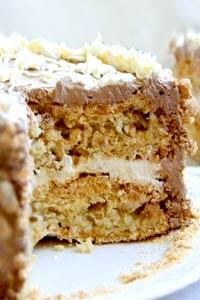 Домашній рецепт Київського торту