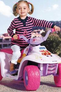 Электромобили и другие транспортные средства для девочек