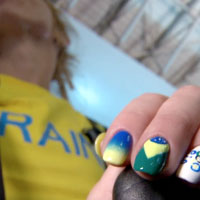 Модний манікюр на Олімпіаді Ріо 2016 (фото)