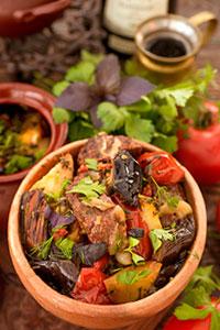 Чанахи - горячо любимое блюдо грузинской кухни