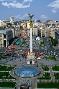 Достопримечательности Киева: Площадь Независимости