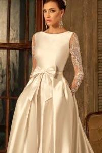 Цветное свадебное платье: оригинально, модно и эффектно