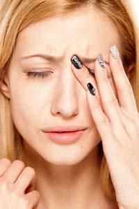 Острое катаральное воспаление глаза