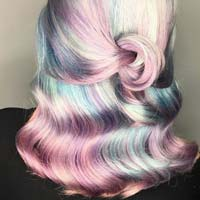 Перламутрове волосся - тренд 2018