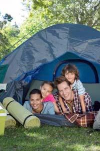 Едем на отдых с палаткой дикарями