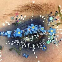 Квітковий макіяж: дивовижний тренд літа 2017