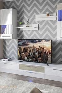 Стиль hi-tech в гостиной и его особенности