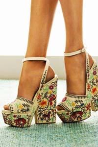 Модные туфли на платформе 2017