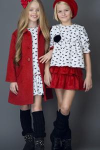 Мода для девочек осень-зима 2017/18