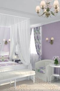 Очарование спальни в стиле прованс