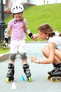 Выбираем детские роликовые коньки