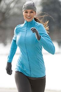 Занятия бегом в зимнее время