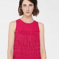 Сукні з бахромою - модний тренд весни 2018