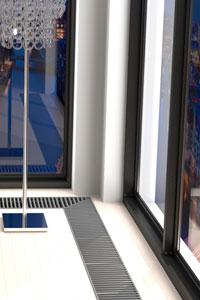 Енергоефективний дім: внутрішньопідлогові конвектори