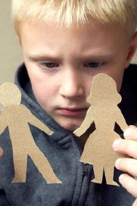 Как пережить развод женщине с детьми