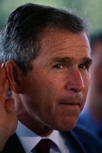 У Буша низкий IQ