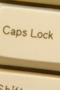 Caps Lock требуют отменить