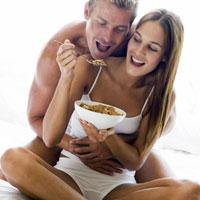 Таинство здорового эротического ужина
